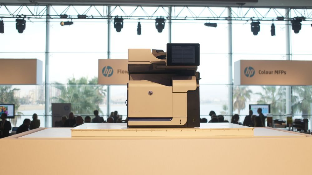 HP Fall Printing Event в Барселоне