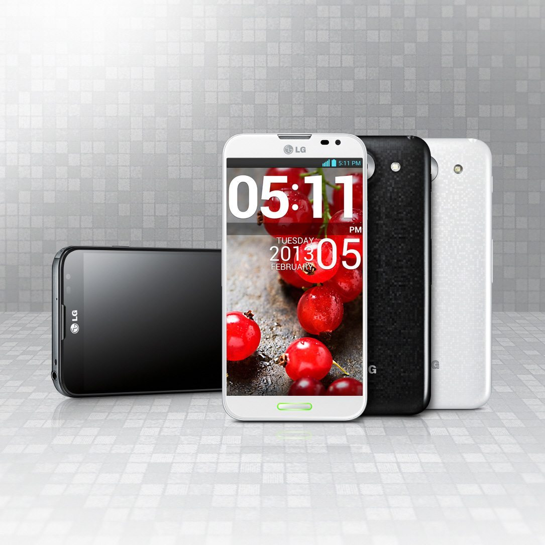 Red dot AwardLG Optimus G Pro Mar13-