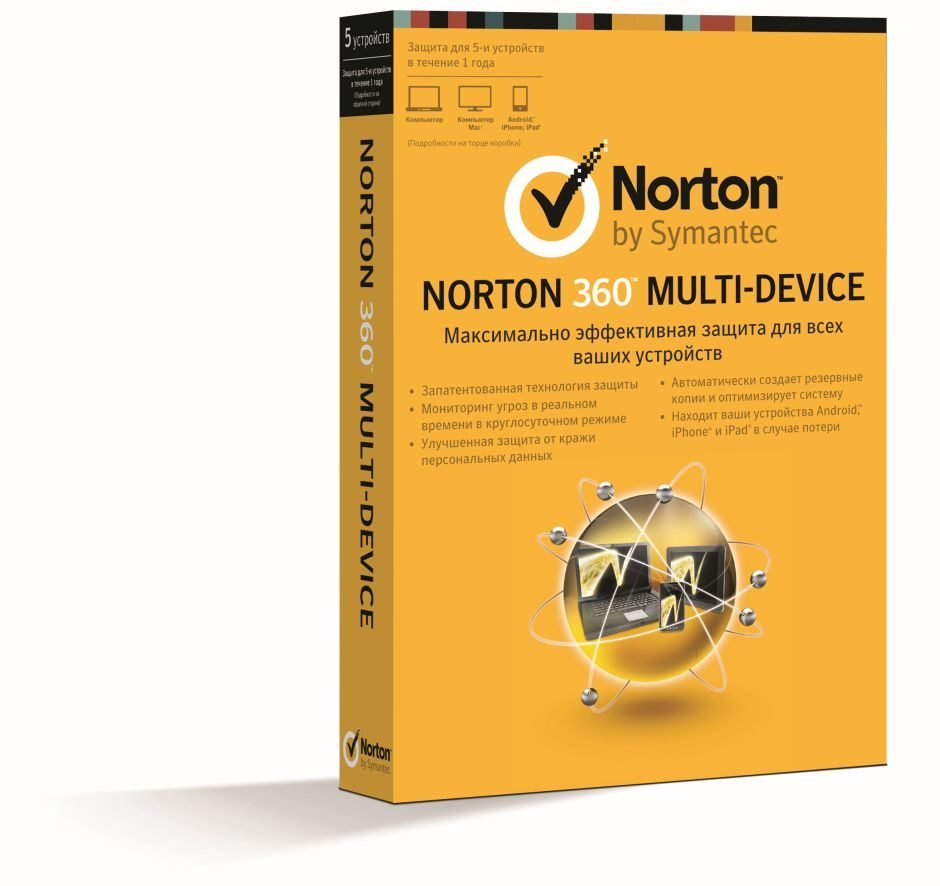 Norton 360 Multi Device 5U MM Box