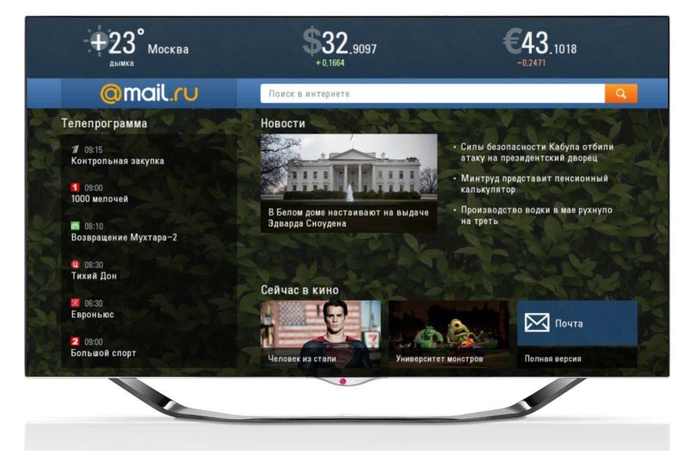 Mail.ru LG TV 2013