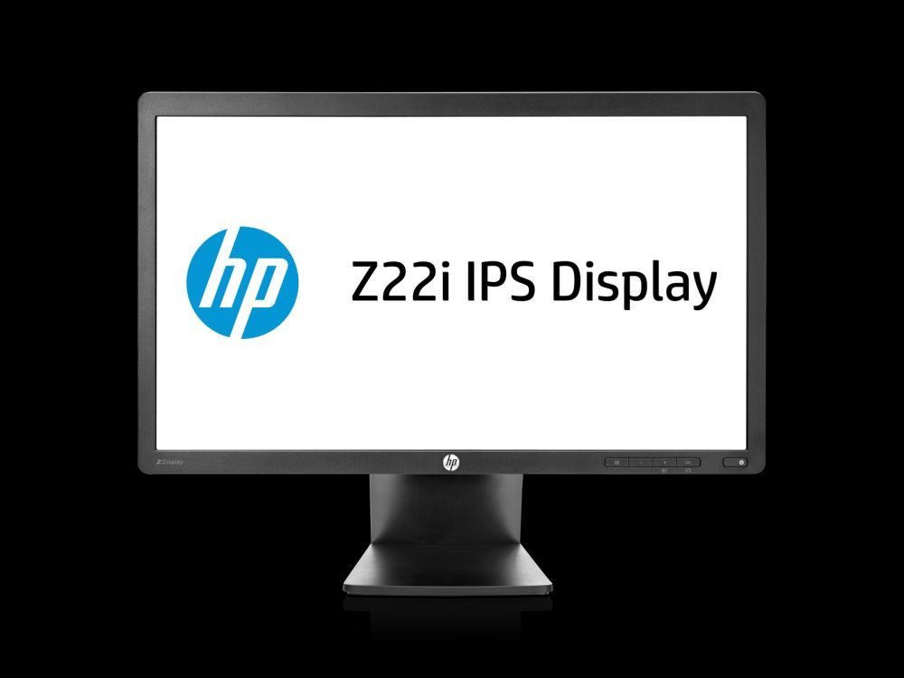 HP Z22i 21.5-inch IPS Monitor , mid-height, center facing