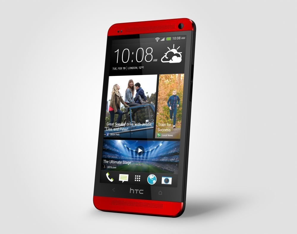 HTC One Red right
