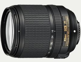 Nikon AF-S DX NIKKOR 18–140mm f/3.5–5.6G ED VR