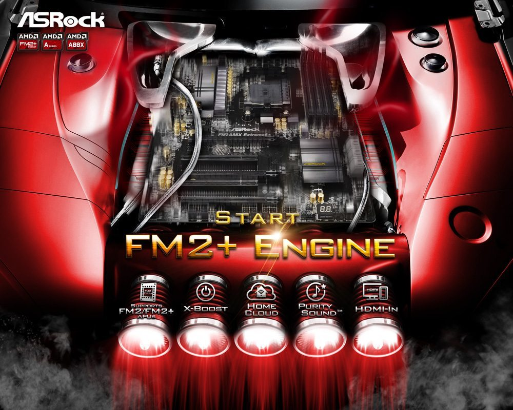 Start FM2+ Engine with ASRock Motherboards