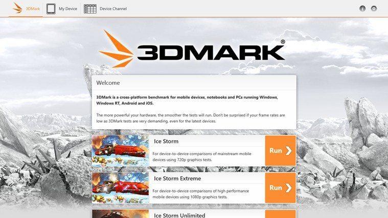 3DMark для Windows RT