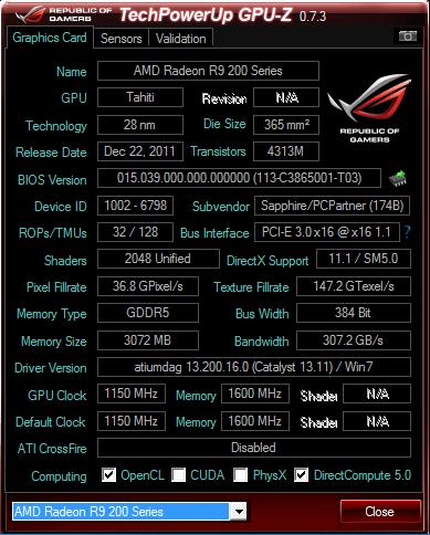 Sapphire TOXIC R9 280X 3GB GDDR5