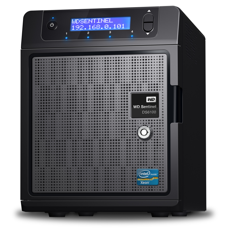 WD Sentinel DS5100 и DS6100