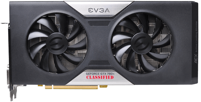EVGA GeForce GTX 780 Ti Classified ACX