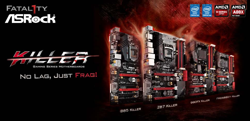 ASRock Killer Series Motherboards