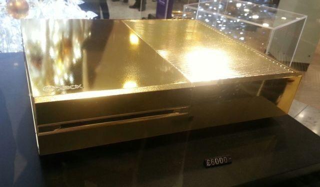 Золотой Xbox One