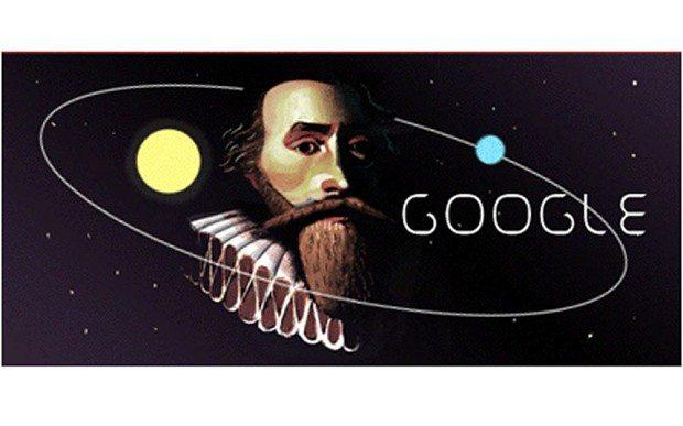 Очередной Google doodle посвящен Иоганну Кеплеру
