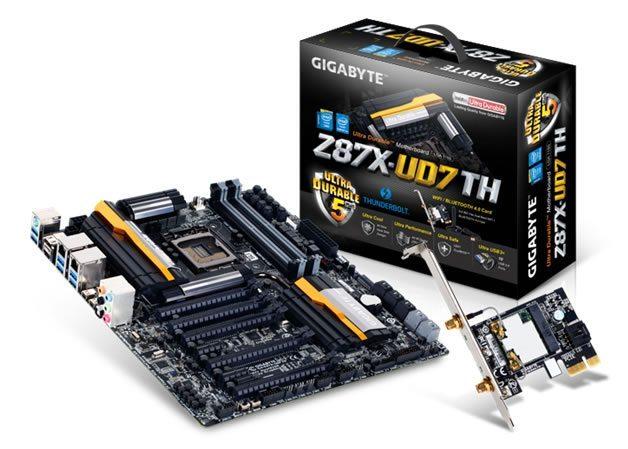 GIGABYTE Z87X - UD7