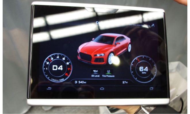 Компания Audi показала «Smart Display» на Android