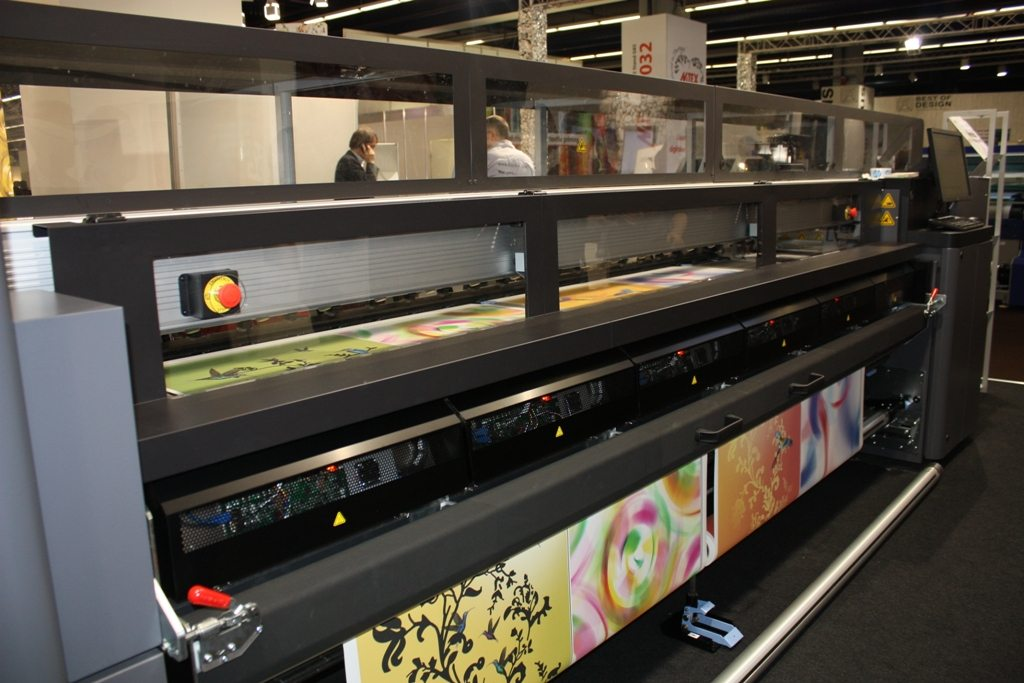 HP Latex 3000 at Heimtextil