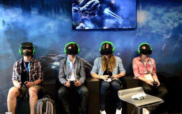 EVE: Valkyrie с Oculus Rift