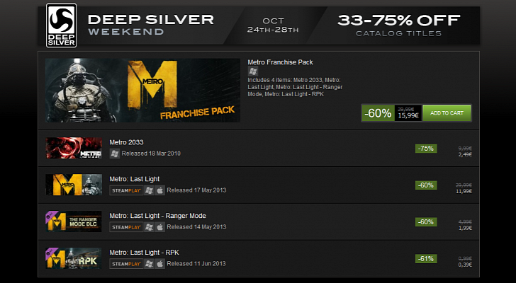 Metro-Last-Light-Gets-60-Discount-During-Deep-Silver-Weekend-on-Steam