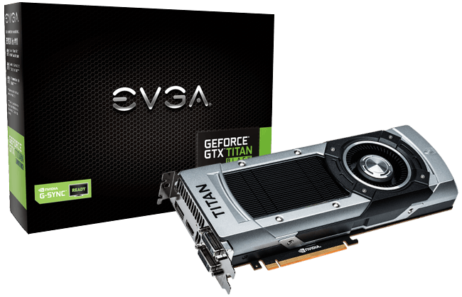 EVGA GeForce GTX TITAN Black