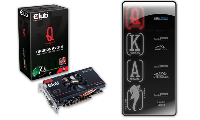Club 3D Radeon R7 265 royalQueen