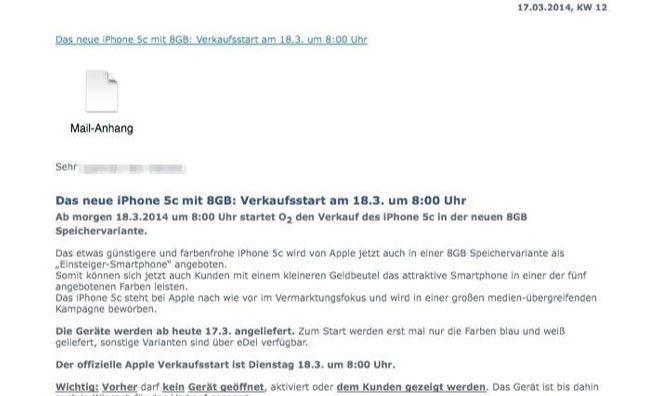 iPhone 5С 8 Гбайт