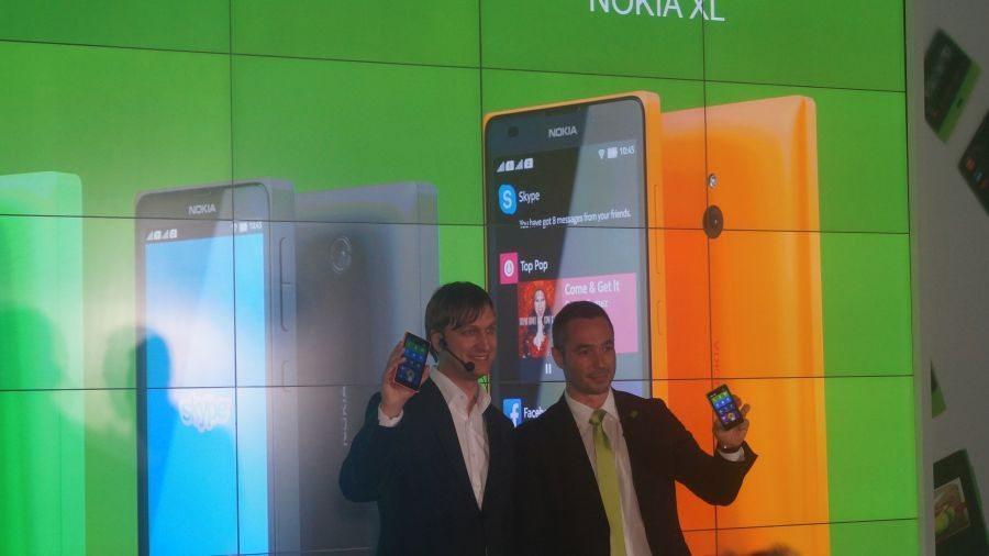 Nokia X, Nokia X+ и Nokia XL в Москве