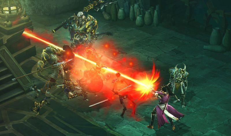Diablo-III_beta_Wizard-vs-Skeleton-King-2
