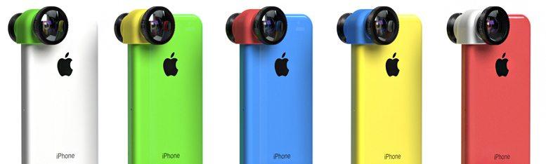 Olloclip для iPhone 5C