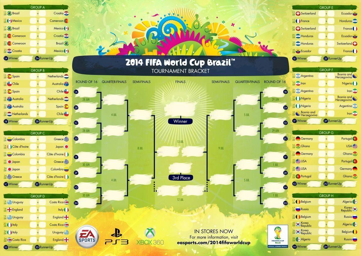 календарь чемпионата мира 2014