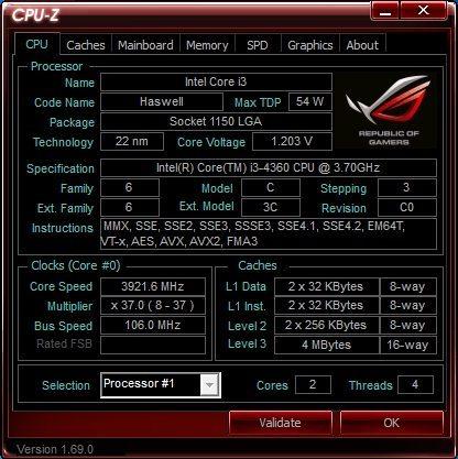 Intel Core i3-4360