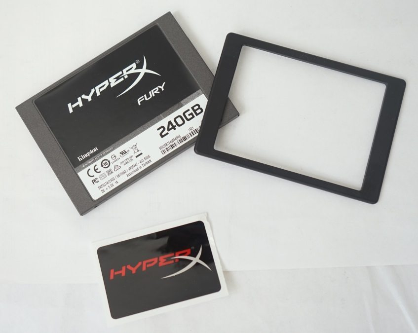 Kingston HyperX FURY SSD 240 Гбайт (SHFS37A/240G)