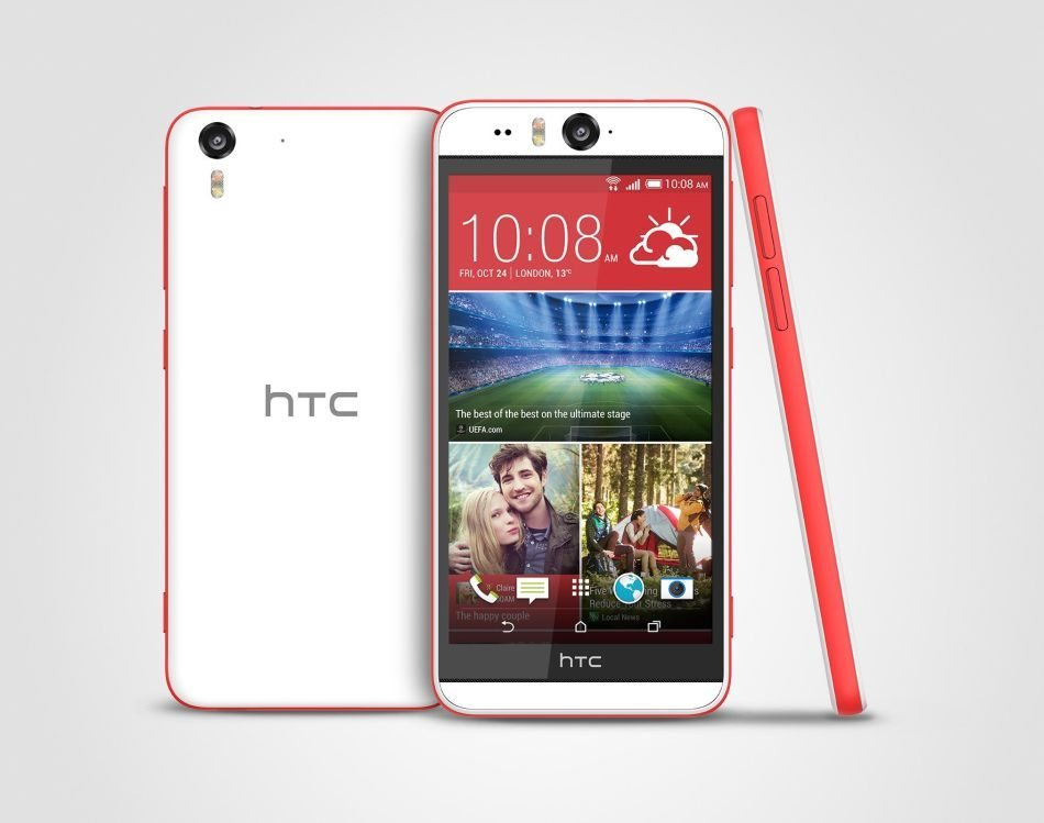 HTC Desire Eye Matt White Stack 300 dpi