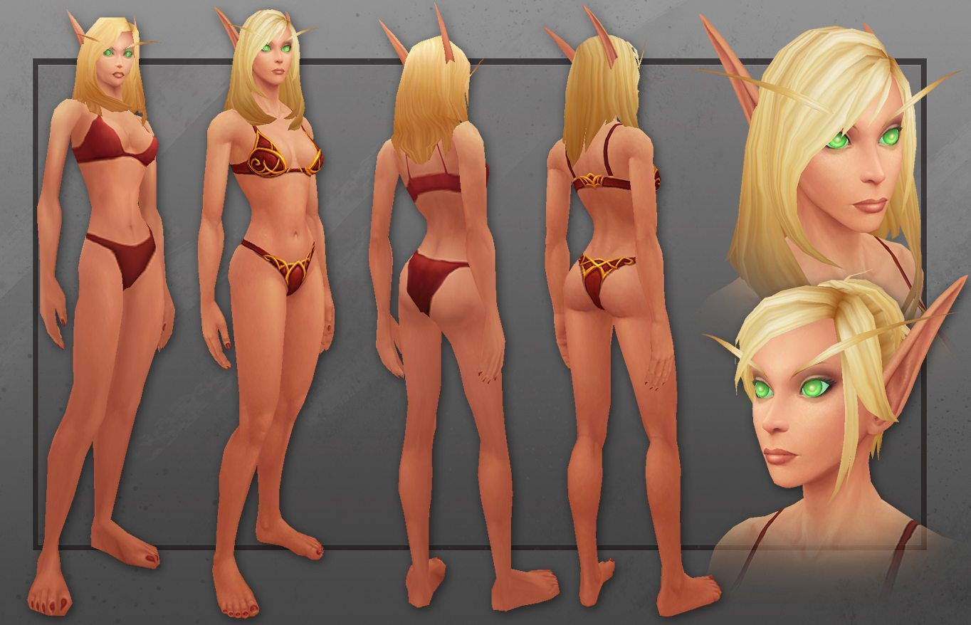 Sexy naked world of warcraft chicks erotic realistic angel