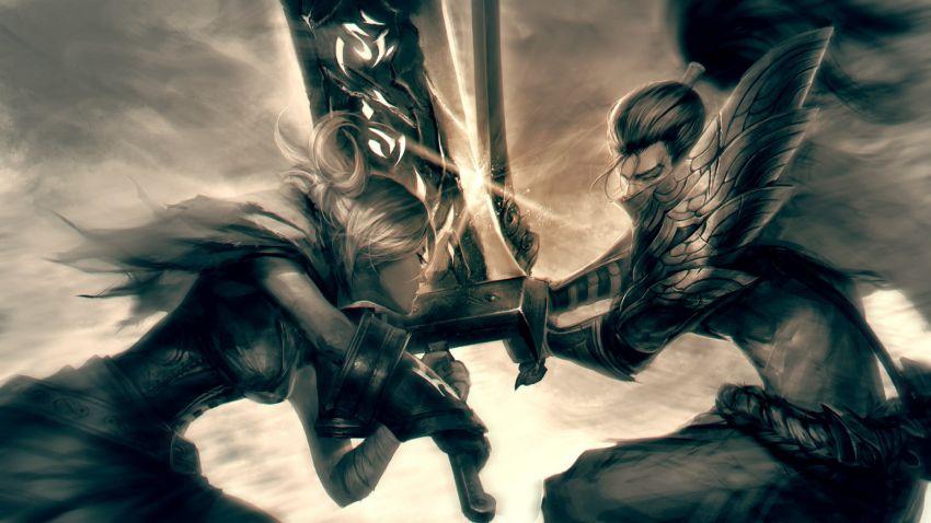 league_of_legends_yasuo_riven_the_exile_the_unforgiven_95697_3840x2160