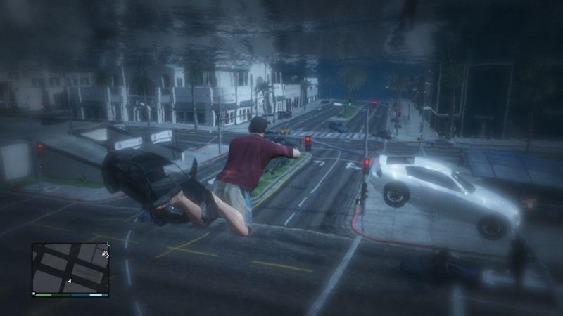 Патч для GTA 5. устранил множество ошибок, но одновременно убрал возможност