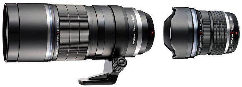 Olympus-M.ZUIKO-DIGITAL-ED-7-14mm-1-2.8-PRO-and-300mm-1-4-PRO-lenses
