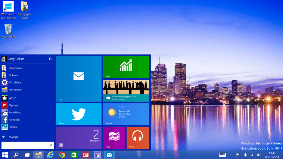 Windows 10 Pro ISO Build 10056 64 Bit Download (1)