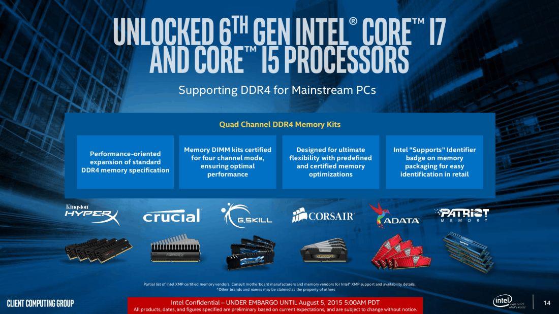 Intel-Skylake-DDR4-Memory-Support