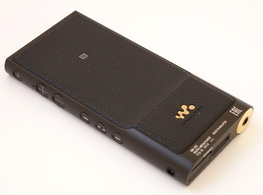 Sony Walkman NW-ZX2 back