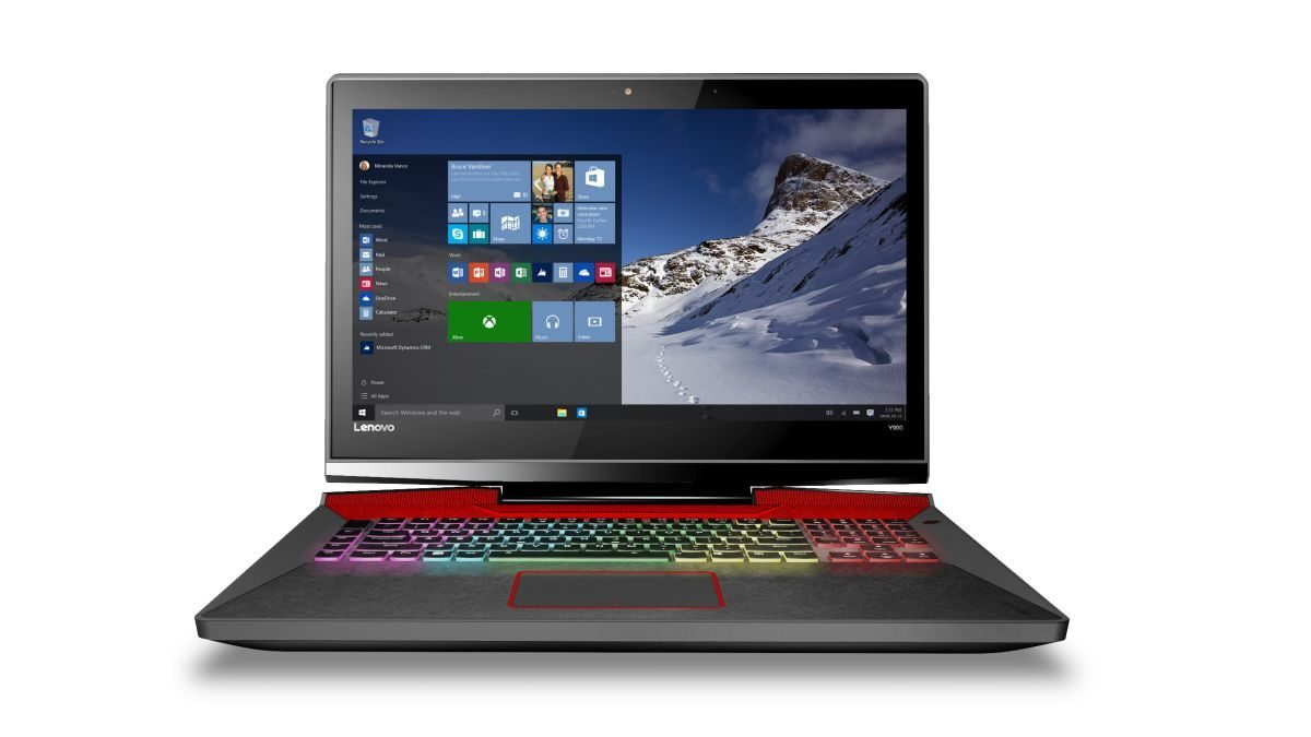 ideapad Y900 Windows 10 Screen & Keyboard