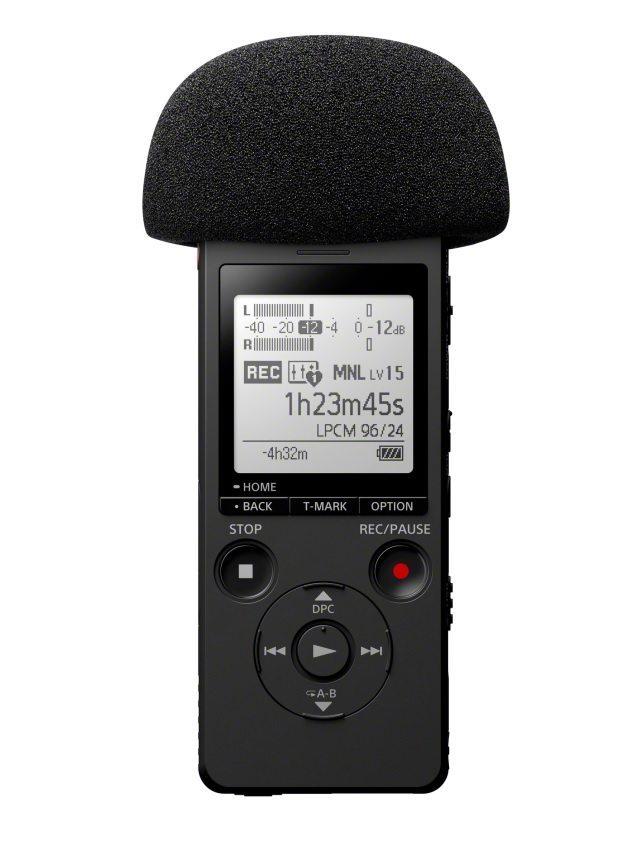 Sony ICD-SX2000 top