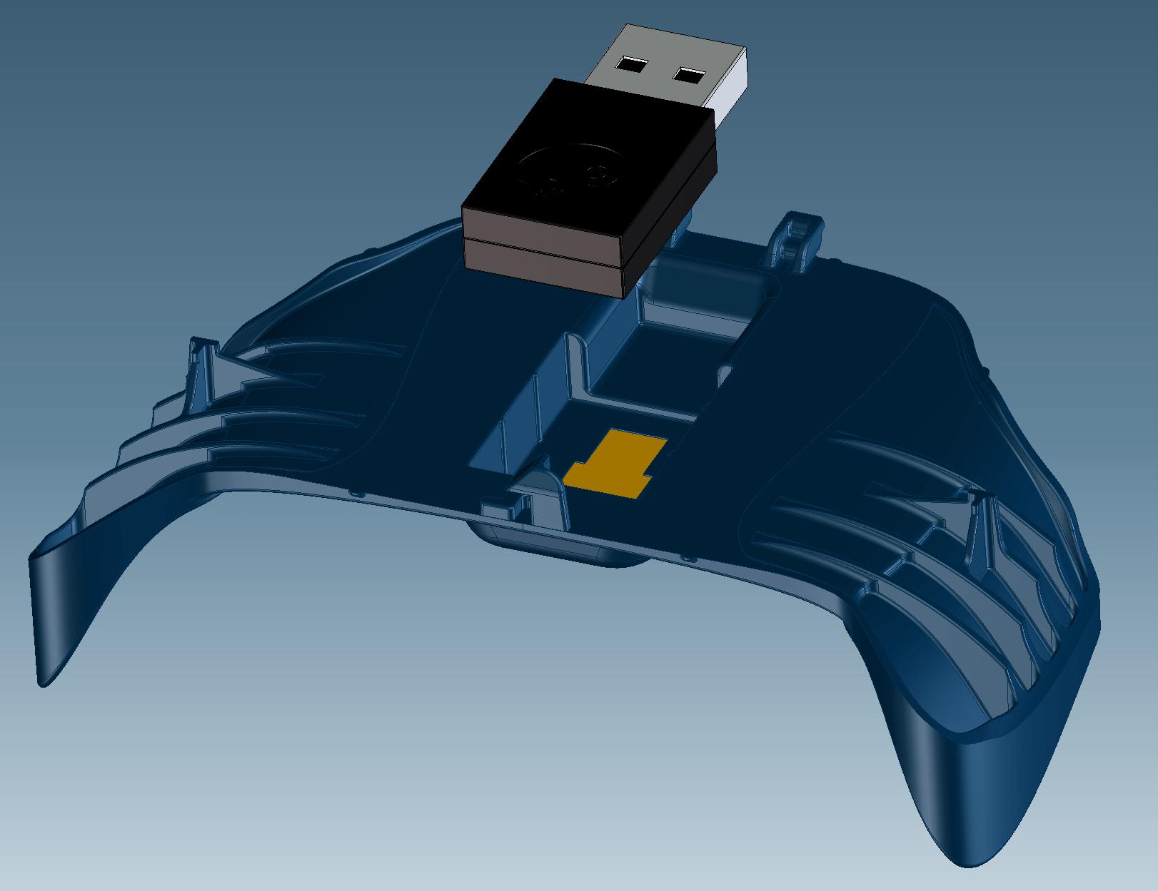Steam Controller model