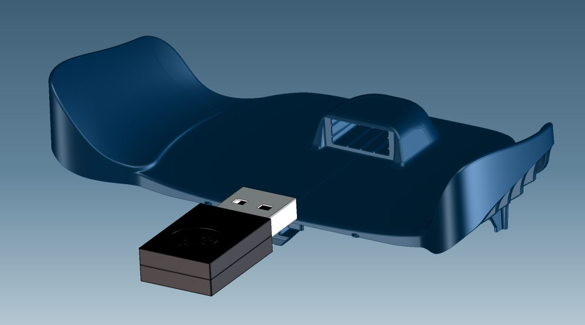 Steam Controller CAD