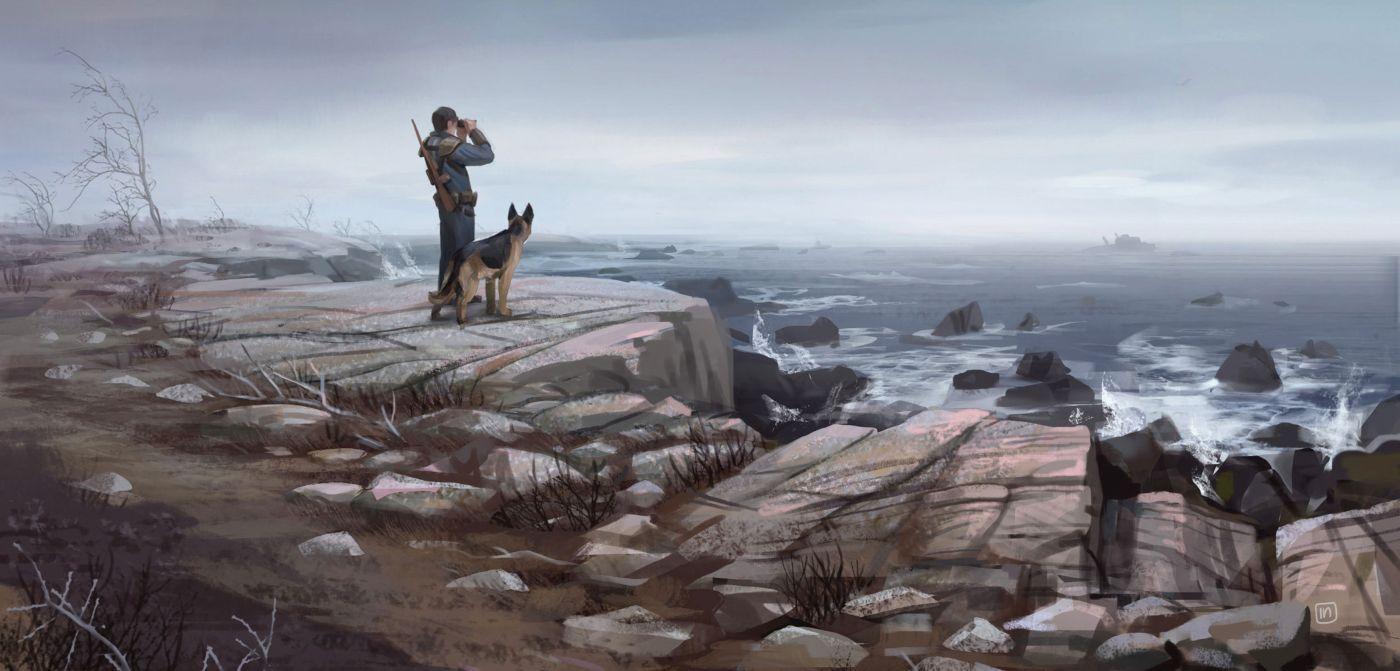 Fallout 4 арт