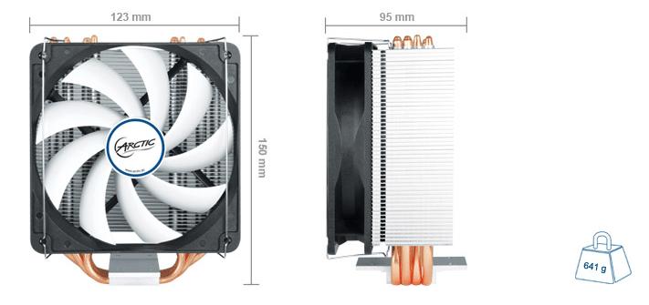 Arctic Freezer A32 size