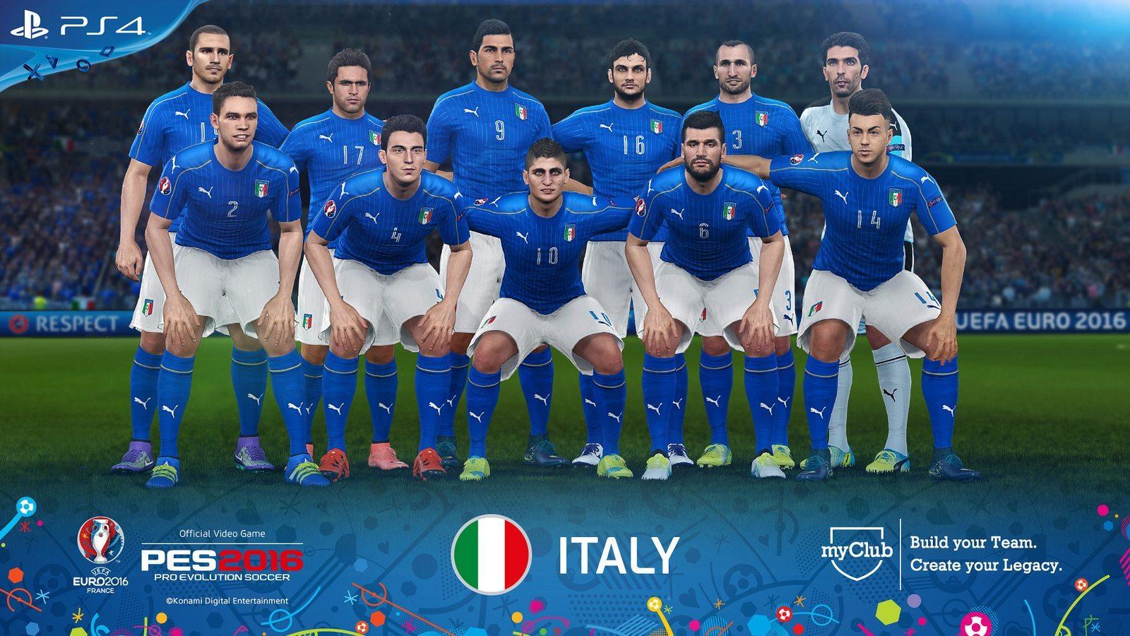 PES 2016 – UEFA Euro 2016 Italy