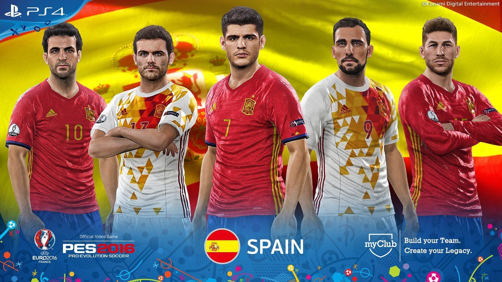 PES 2016 – UEFA Euro 2016 Spain
