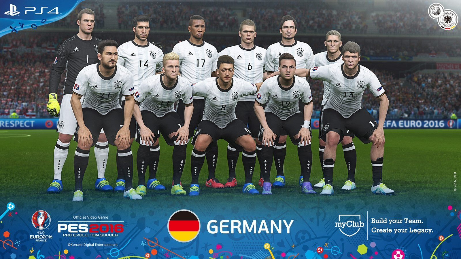 PES 2016 – UEFA Euro 2016 Germany