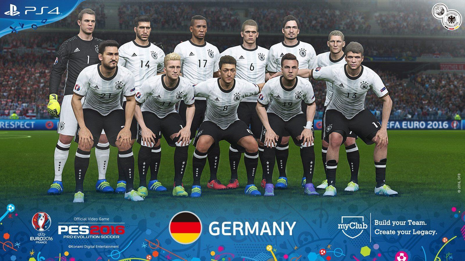 PES 2016 – UEFA Euro 2016 Germany