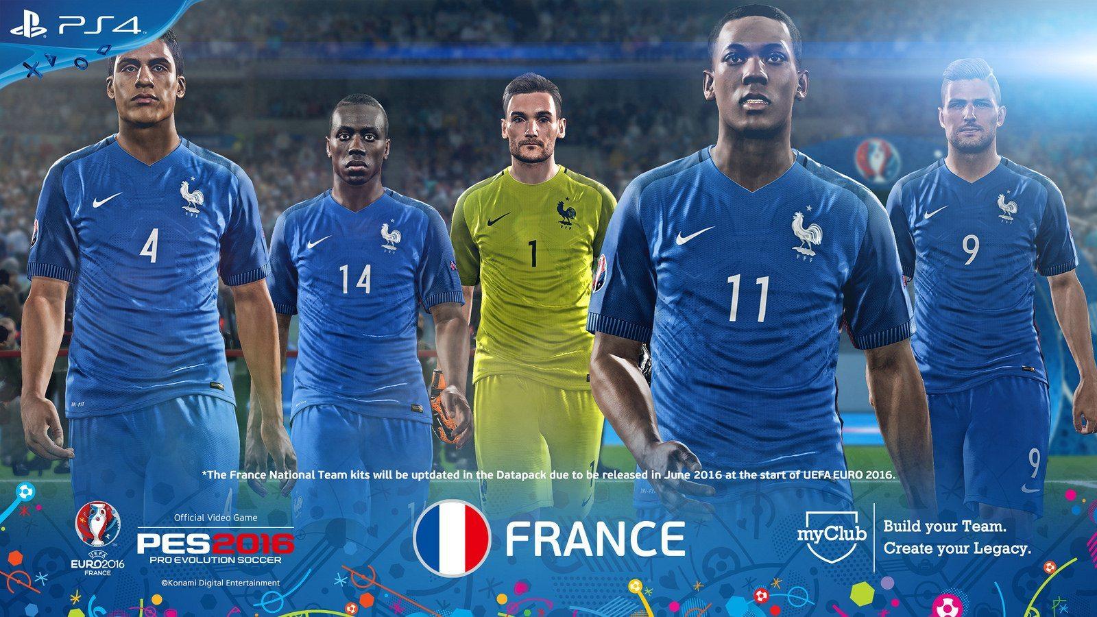 PES 2016 – UEFA Euro 2016 France