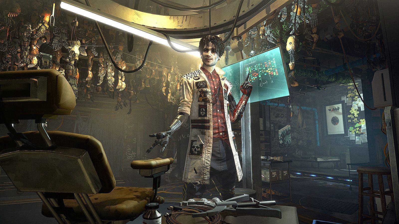 Deus Ex: Mankind Divided cyber