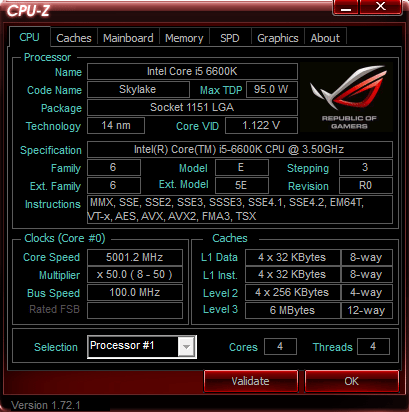 6600K 5 ГГц